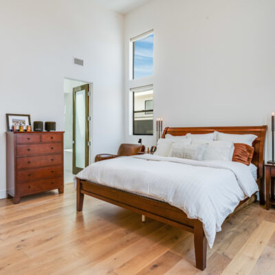 Bright and spacious primary suite
